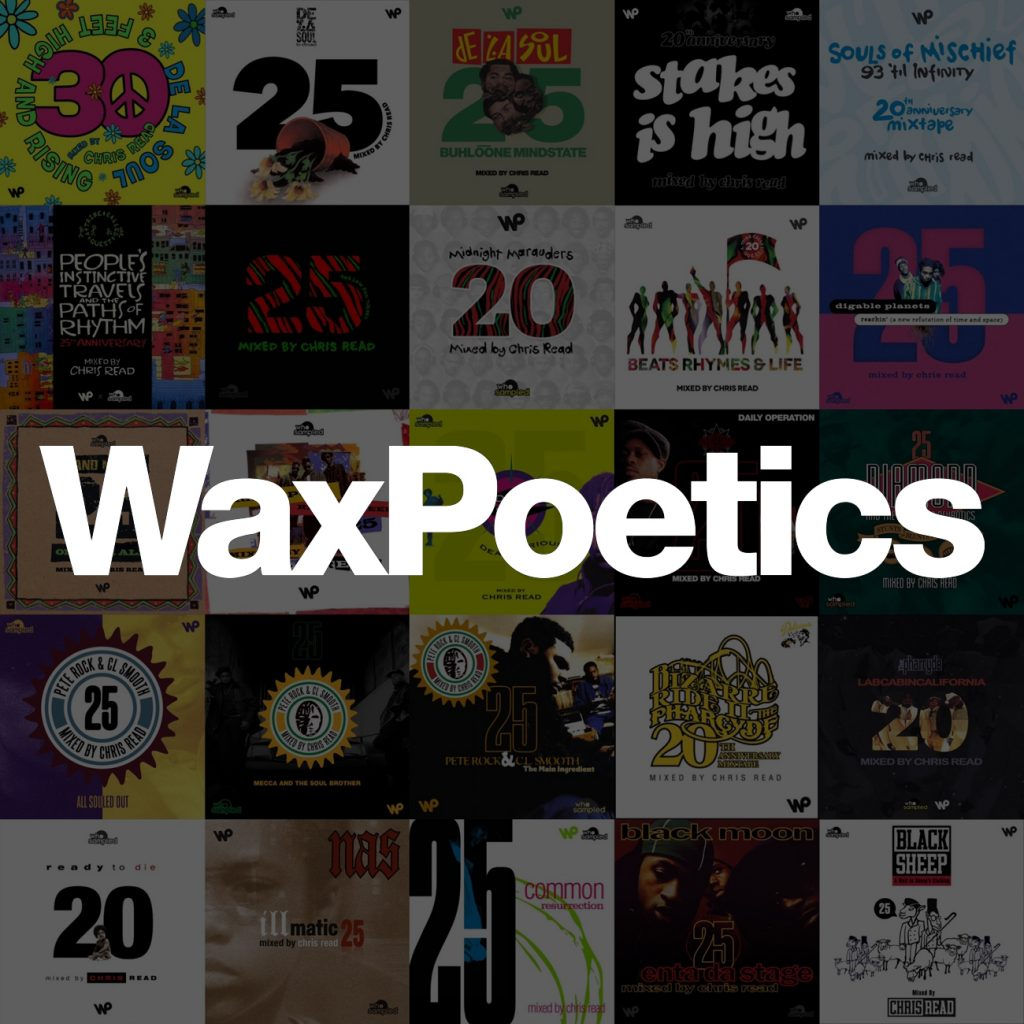 Wax Poetics Guest Mix Series